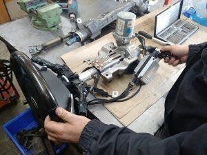 Виробництво рульових колонок