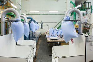 Фабрика по изготовлению одеял и подушек